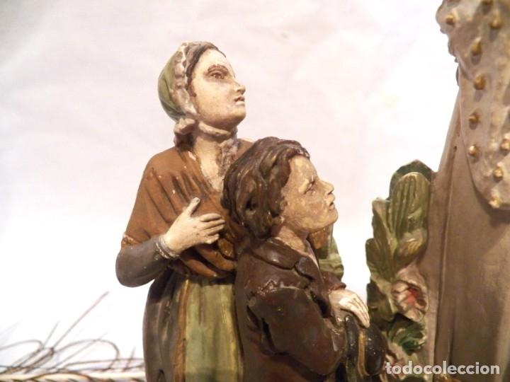 Arte: Antigua Virgen XIX, Virgen Salette, Virgen 2 Pastores, Virgen Escayola, Virgen Francesa, - Foto 2 - 181906512