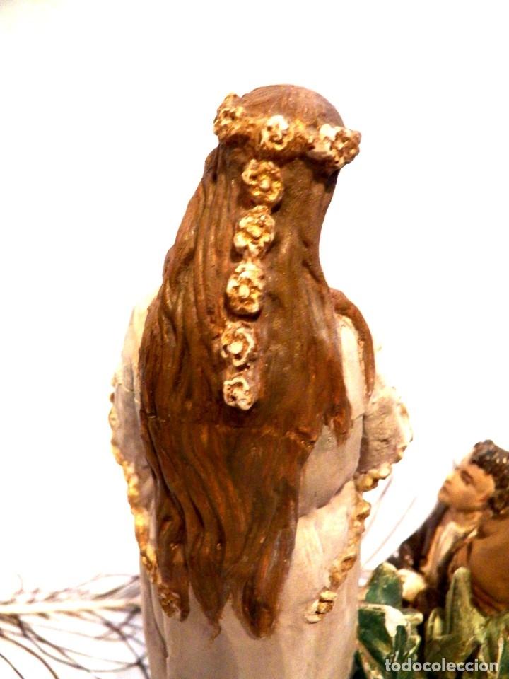 Arte: Antigua Virgen XIX, Virgen Salette, Virgen 2 Pastores, Virgen Escayola, Virgen Francesa, - Foto 7 - 181906512