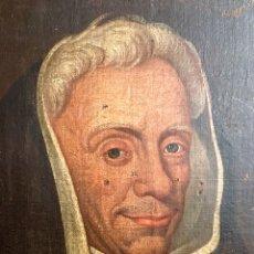 Art: ÓLEO SOBRE LIENZO. RELIGIOSO. ESCUELA ESPAÑOLA S.XVII. Lote 181956666