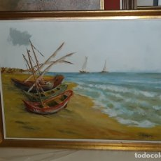 Arte: OLEO PAISAJE MARITIMO . Lote 181963095