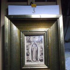 Arte: POSTAL ANTIGUA ENMARCADA DE LA VIRGEN INMACULADA CONCEPCION - DE JUAN DE JUANES.. Lote 182031107