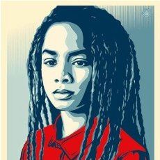 Arte: OBEY - SHEPARD FAIREY - WE THE PEOPLE / PROTECT EACH OTHER - LITOGRAFÍA ORIGINAL. Lote 182143253