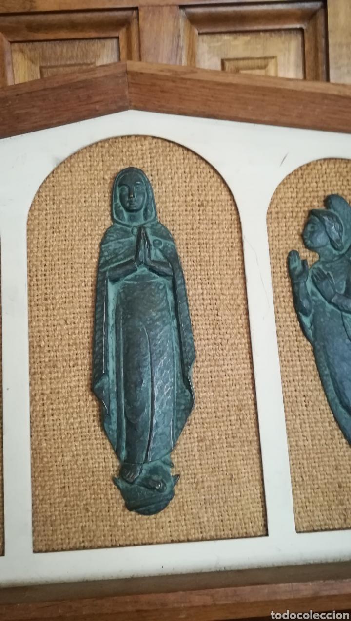 Arte: Antiguo cuadro Religioso - Foto 3 - 182283651