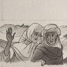 Arte: HISTORIA DE RUT, DE PIERRE MONNERAT (SUIZA 1917-BARCELONA 2006).. Lote 182290065