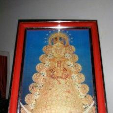 Arte: VIRGEN DEL ROCÍO. CUADRO PEQUEÑO. Lote 182310408