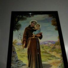 Arte: SAN ANTONIO. CUADRO PEQUEÑO.. Lote 182312383