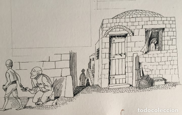 LIMOSNA Y ORACIÓN, MONNERAT 1974, FIRMADO Y REPRODUCIDO (Arte - Arte Religioso - Pintura Religiosa - Otros)