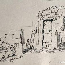 Arte: LIMOSNA Y ORACIÓN, MONNERAT 1974, FIRMADO Y REPRODUCIDO. Lote 182367543
