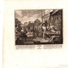 Arte: GRABADO RELIGIOSO HAMBRUNA DE SAMARIA. SIGLO XVIII. Lote 182384468