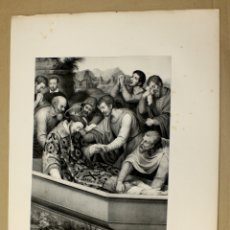 Arte: LITOGRAFIA RELIGIOSA JUAN DE JUANES SIGLO XIX. Lote 182486038