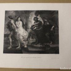 Arte: LITOGRAFIA RELIGIOSA RUBENS. SIGLO XIX. Lote 182488096