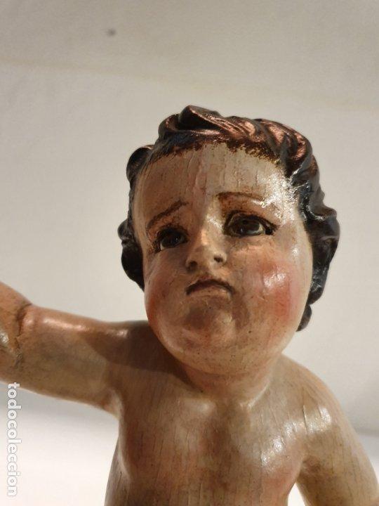 Arte: Talla niño de pasión. Escuela andaluza S.XVII. - Foto 8 - 182493976