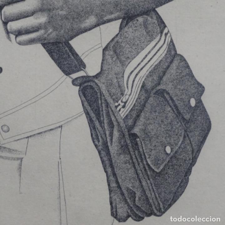 """Arte: Grabado aguafuerte de rudolf häsler.serie """"ramblas 73-75"""".bien enmarcado.36/100 - Foto 5 - 182730121"""