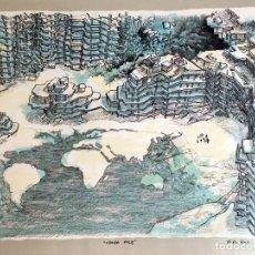 Arte: OIWA, O.S. (1965-). LITOGRAFIA. NUMERADA. FIRMADA. FECHADA.. Lote 182746272