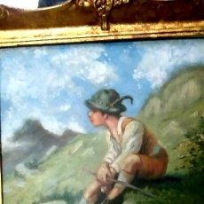 Arte: PAISAJE ALPINO.. Lote 182780131