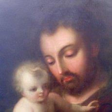 Arte: JOSÉ CON JESUS NIÑO, ATRIBUIDO A JOSÉ DE PÁEZ .. Lote 182980941