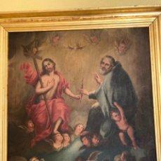 Arte: ÓLEO RELIGIOSO ANTIGÜEDADES. Lote 183190473