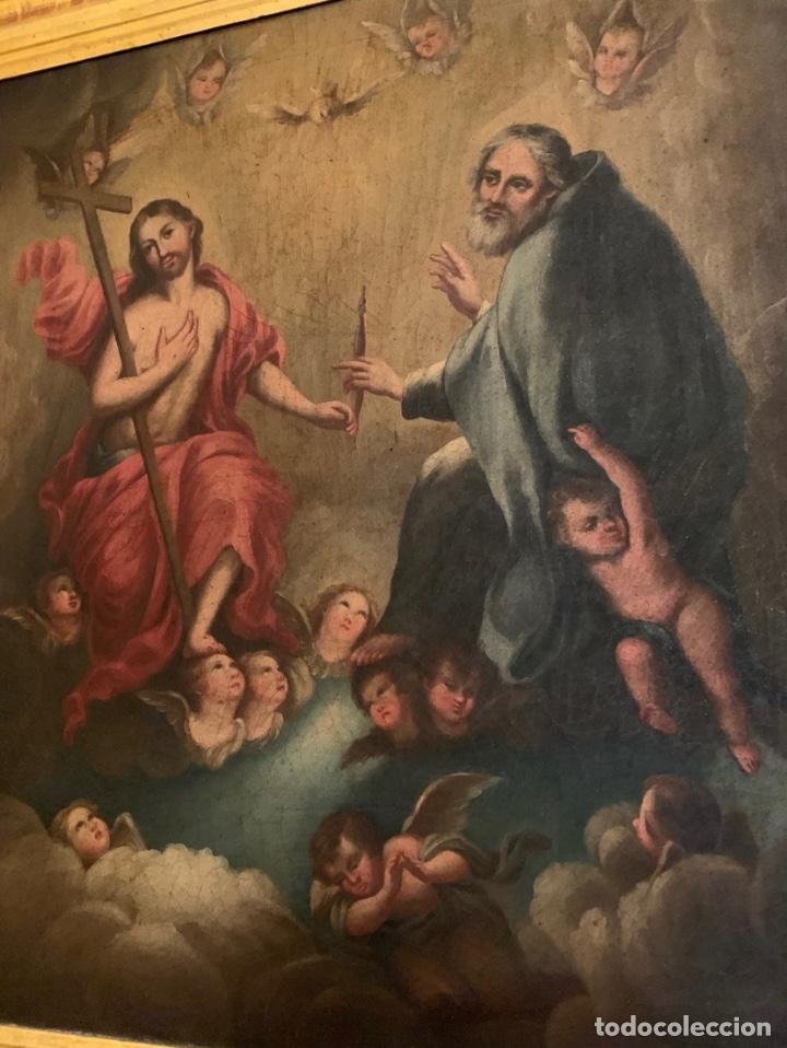 Arte: Óleo Religioso Antigüedades - Foto 2 - 183190473