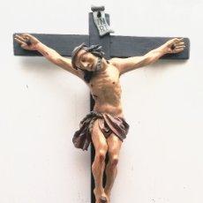 Arte: PRECIOSO CALVARIO EN MADERA POLICROMADA. Lote 183250771