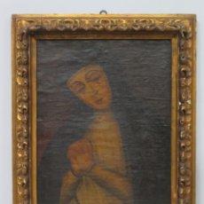 Arte: VERDADERO RETRATO VIRGEN DE LA PALOMA. OLEO S/ LIENZO. SIGLO XVIII. Lote 183280023