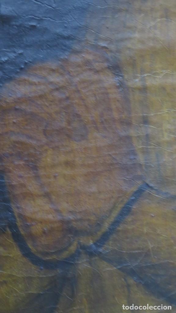 Arte: VERDADERO RETRATO VIRGEN DE LA PALOMA. OLEO S/ LIENZO. SIGLO XVIII - Foto 7 - 183280023