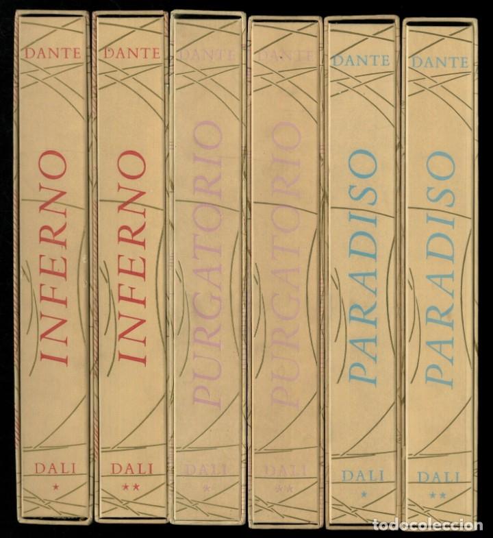 LA DIVINA COMEDIA, DANTE ALIGHIERI. SALVADOR DALI 100 LITOGRAFIAS. 6 VOLUMENES COMPLETA (Arte - Arte Religioso - Litografías)