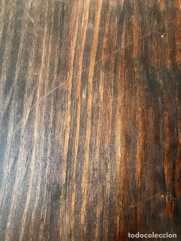 Arte: Tablilla de madera con impresion de imagen religiosa, parece ser un papa - Foto 12 - 183346060