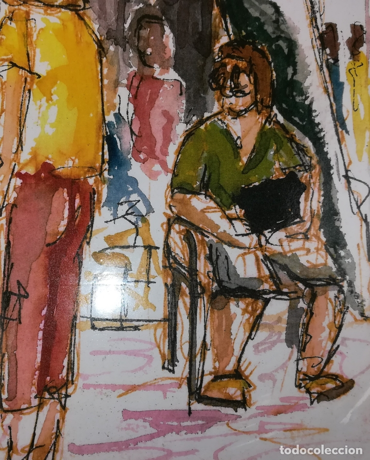 Arte: LAS RAMBLAS. GRABADO 1/200. STEVE. BARCELONA 2011 - Foto 3 - 183373326