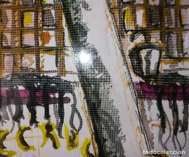 Arte: LAS RAMBLAS. GRABADO 1/200. STEVE. BARCELONA 2011 - Foto 4 - 183373326