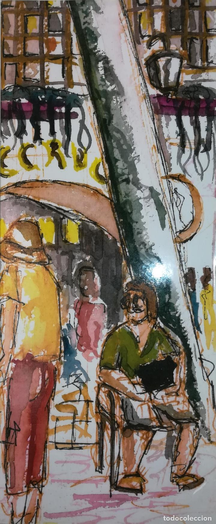 Arte: LAS RAMBLAS. GRABADO 1/200. STEVE. BARCELONA 2011 - Foto 5 - 183373326