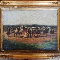 Arte: OLEO FIRMADO A. TORRES. Lote 183380351