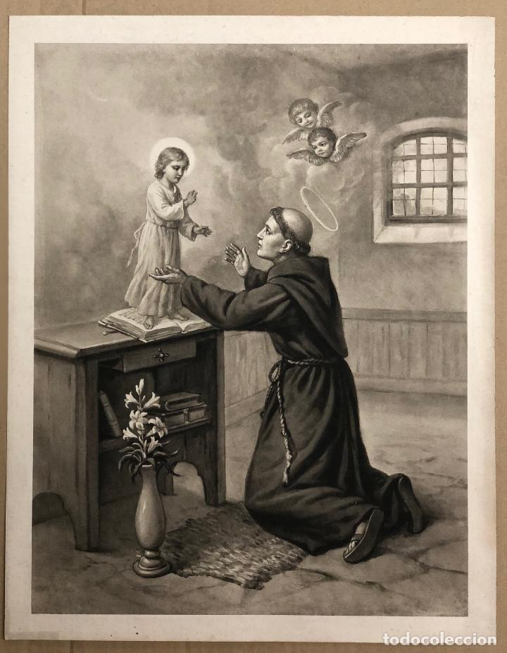 LITOGRAFIA RELIGIOSA. SIGLO XIX (Arte - Arte Religioso - Litografías)