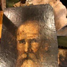 Arte: CABEZA DE APOSTOS, OLEO SOBRE TABLA. Lote 183404582