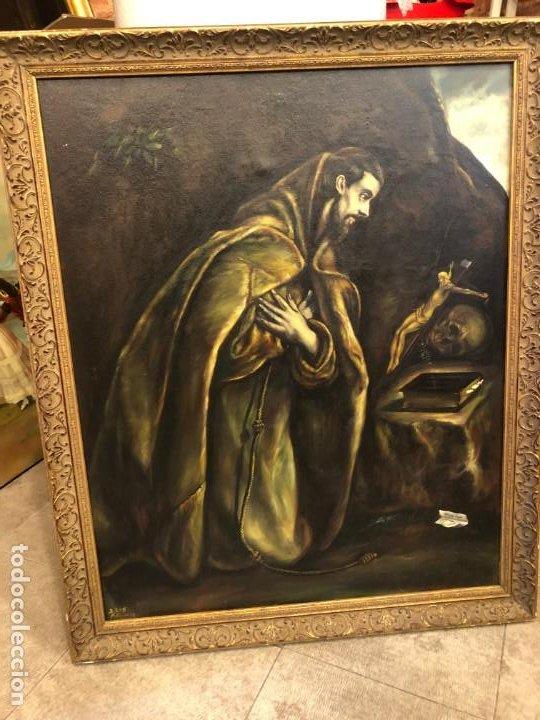 SAN FRANCISCO, EL GRECO (Arte - Arte Religioso - Pintura Religiosa - Oleo)