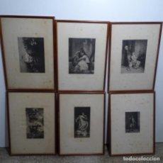 Arte: OFERTA!!! 6 GRABADOS SIGLO XIX.. Lote 183432233