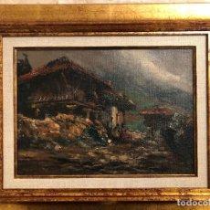 Arte: ENRIQUE VERA SALES OLEO PINTOR DE TOLEDO. Lote 183471187