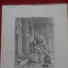 Arte: GRABADO ERÓTICO DE PAUL ÉMILE BECAT A LA PLUMA SECA SENSUAL Y DELICADO.. Lote 183507253