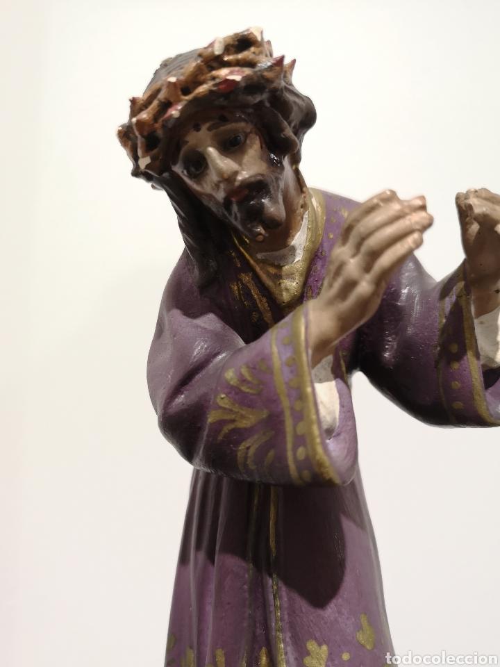Arte: Figura Cristo Olot, 22cm - Foto 3 - 183584561