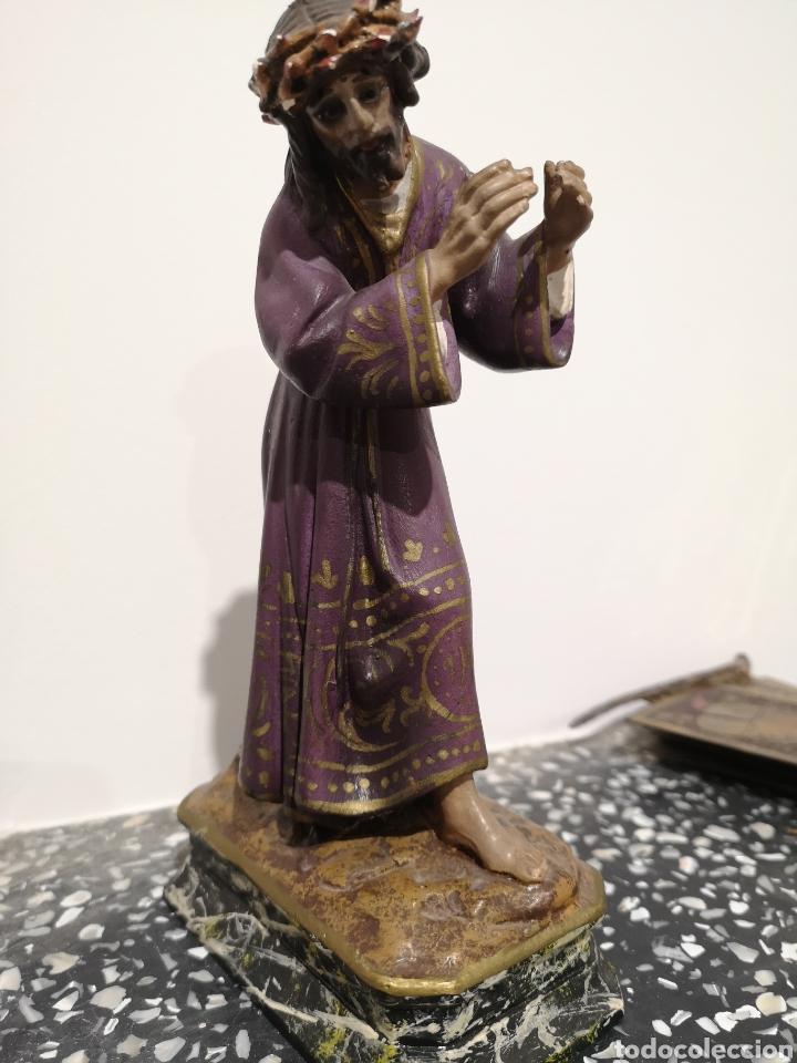 Arte: Figura Cristo Olot, 22cm - Foto 4 - 183584561