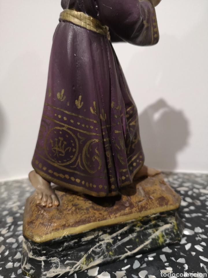 Arte: Figura Cristo Olot, 22cm - Foto 6 - 183584561