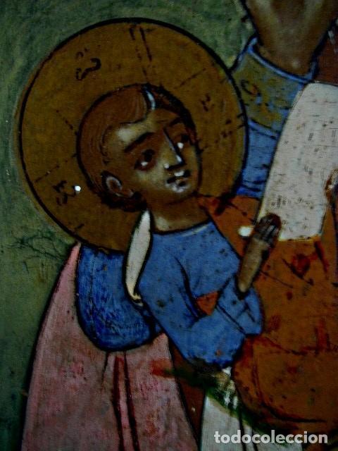 Arte: Icono de Ruso siglo 19. Significando: Madre de Dios, Curadora de Penas. - Foto 8 - 183675031