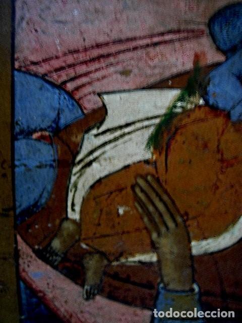 Arte: Icono de Ruso siglo 19. Significando: Madre de Dios, Curadora de Penas. - Foto 9 - 183675031