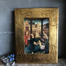 Arte: ICONO DE VIGEN MEMLING GRANADA CAPILLA REAL. Lote 183700845