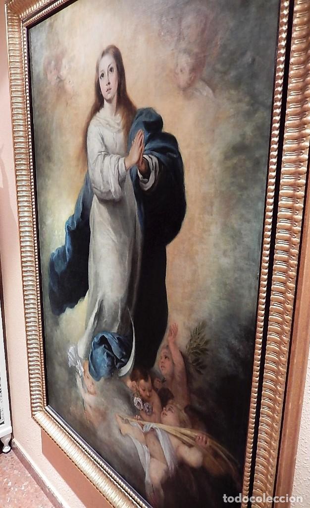 GRAN ÓLEO INMACULADA S. XVIII-XIX (Arte - Arte Religioso - Pintura Religiosa - Oleo)