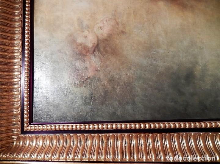 Arte: Gran óleo Inmaculada s. XVIII-XIX - Foto 9 - 183740172
