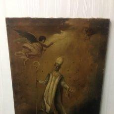 Arte: SAN NARCISO,PATRÓN DE GERONA, EL MILAGRO DE LAS MOSCAS. Lote 183740931