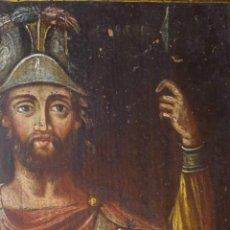 Arte: ANTIGUO ICONO SIGLO XVIII-XIX DE SAN LONGINOS. Lote 183742307