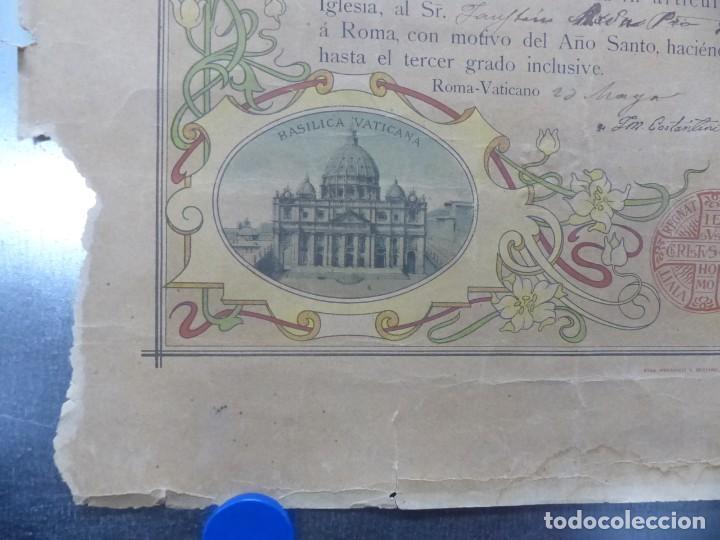 Arte: SOLEMNE OBSEQUIUM IESU CH. REDEMPTORI, NUESTRO SMO. PADRE EL PAPA LEON XIII - AÑO 1900 - Foto 2 - 183822578