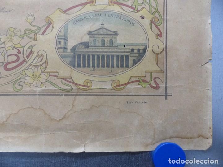 Arte: SOLEMNE OBSEQUIUM IESU CH. REDEMPTORI, NUESTRO SMO. PADRE EL PAPA LEON XIII - AÑO 1900 - Foto 7 - 183822578