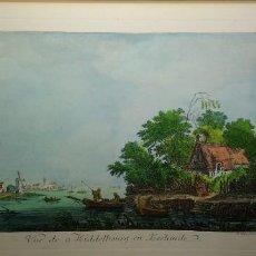 Arte: LITOGRAFIA VUE DE MIDDELBOURG EN ZEELANDE, LE VEAU SCULP. Lote 183822591